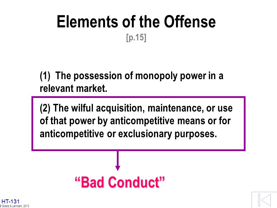 Elements of the Offense [p.15]